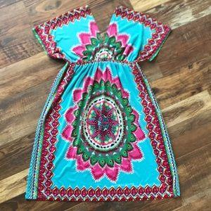 Magic Mandala Summer Dress/Cover-up